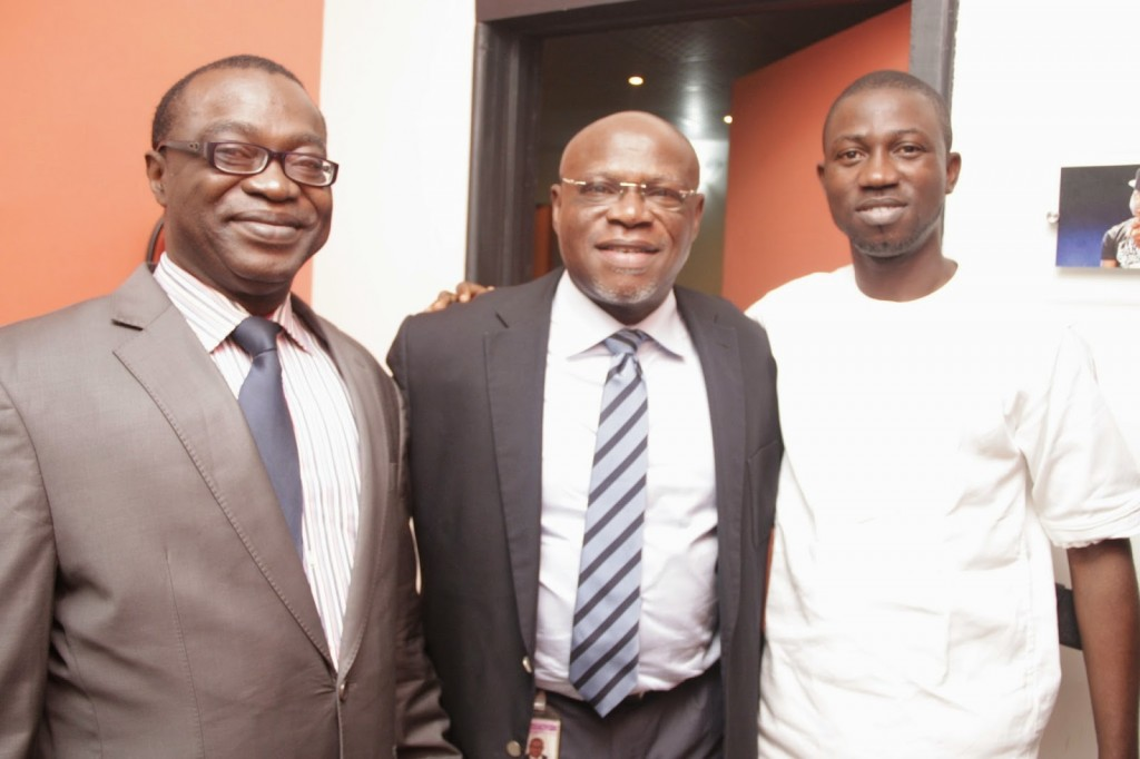 PRCAN President Chido Nwakanma, Mediacraft M.D and PRCAN VP John Ehiguese and BlackHouse Media CEO Ayeni Adekunle Photo: BHM... Read More at thenet.ng/2014/08/blackhouse-media-launches-nigerias-first-pr-app/ Follow us: @theNETng on Twitter | theNETng on Facebook