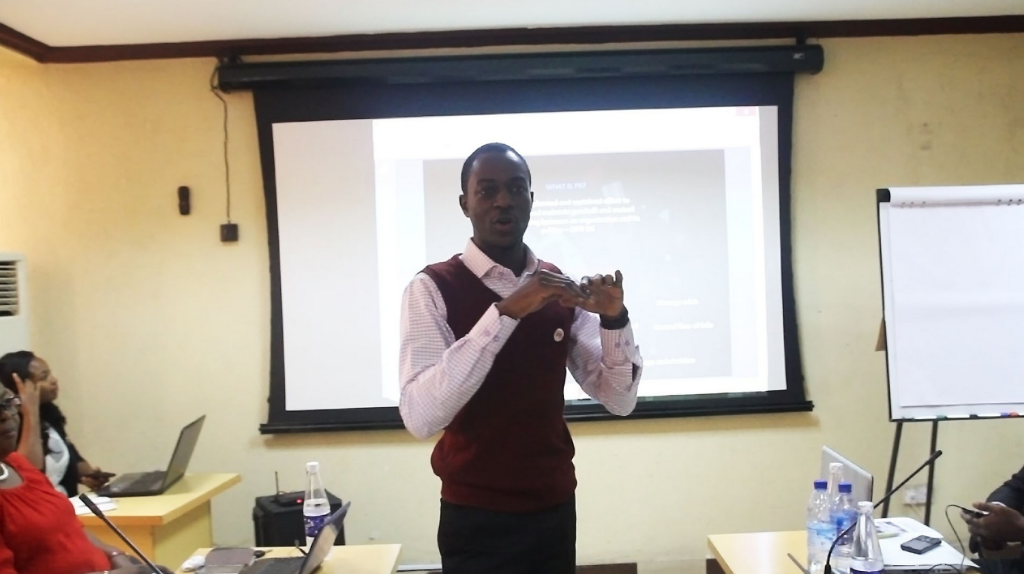 Femi Falodun speaking at NIPR Digital Workshop