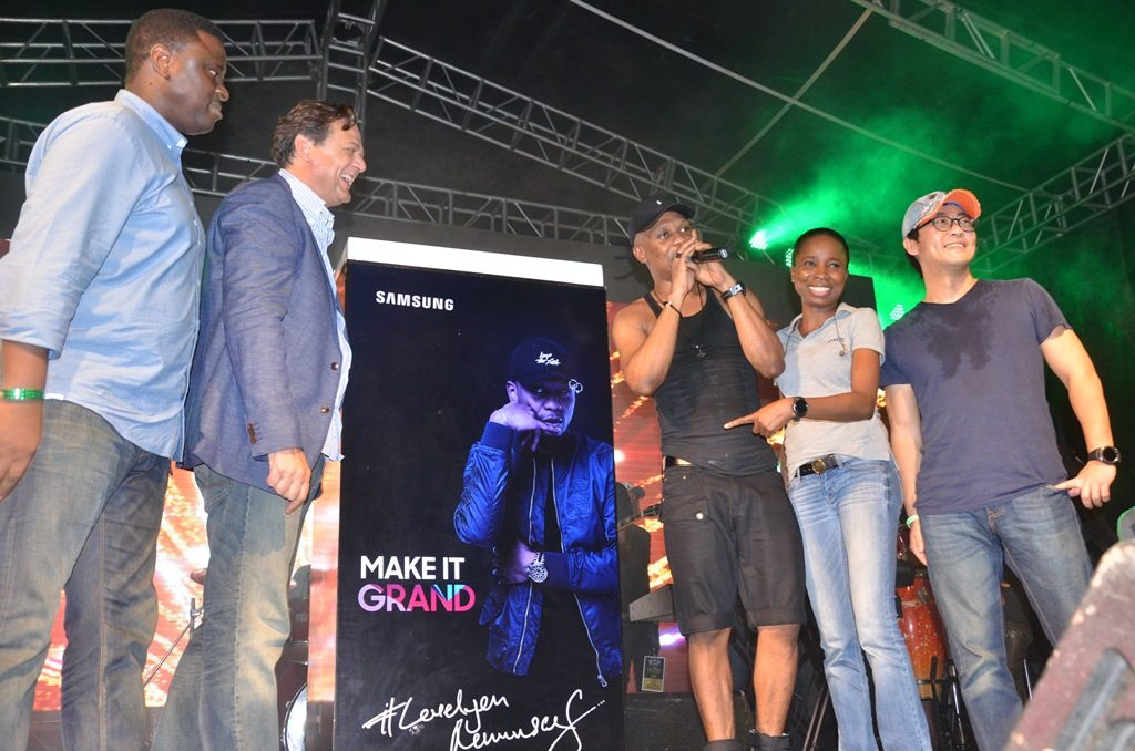 Reminisce's the Street Concert introduces Galaxy Grand Prime + Limited Edition Pack - Brand Spur