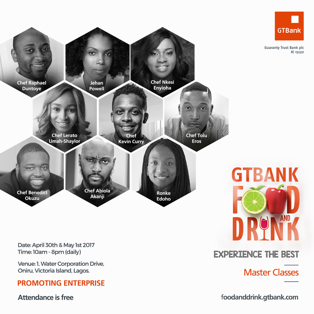 Over 100 Small Businesses to Participate in 2017 GTBank Food and Drink Fair - Brand Spur