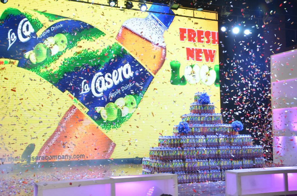 La Casera Apple Drink Celebrate Dealers, Other Stakeholders With Fresh New Look And More Apple Juice - Brand Spur