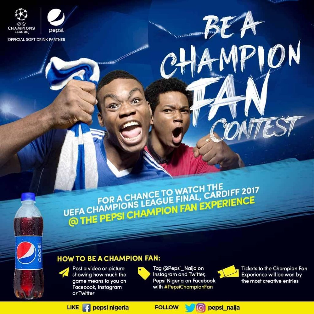 Are you a true fan? Calling all Pepsi Champion Fans this UEFA Season