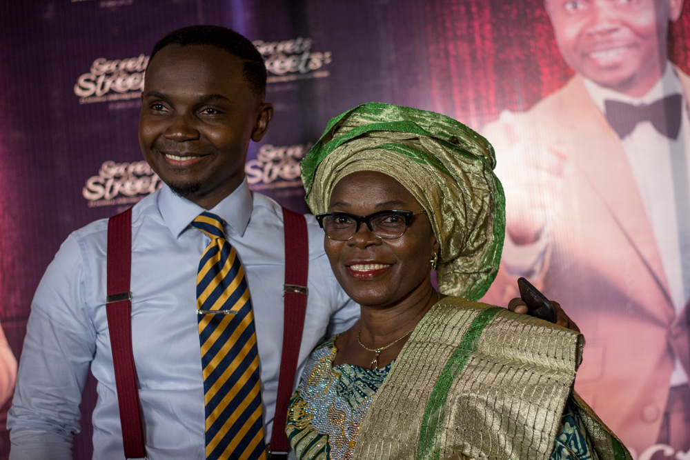 Teju Baby Face and Mum