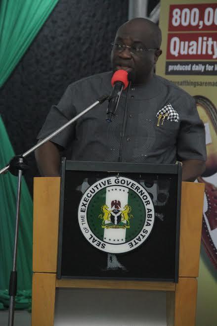 Governor Dr Okezie Ikpeazu