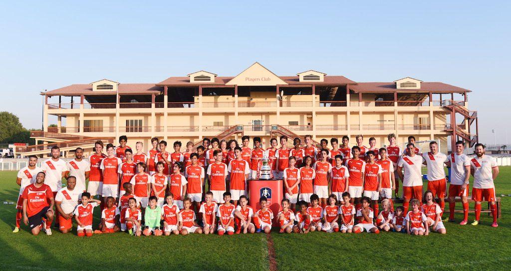 Arsenal Brings the Emirates FA Cup to Dubai - Brand Spur