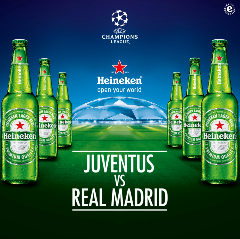 Heineken to Celebrate 2016/2017 UCL Final with Exclusive ...
