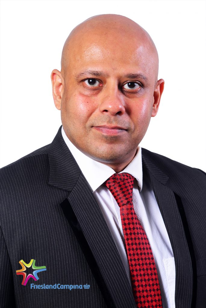 Tarang Gupta, Marketing Director, Friesland Campina WAMCO