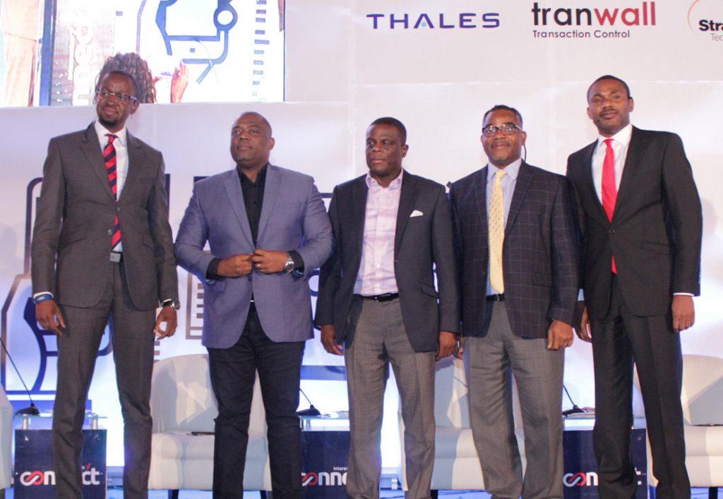 L-R: Aggrey Maposa, MD, Kantar Nigeria; Adewale Arikawe, Sales Director, Friesland Campina WAPCO, Olu Akanmu, ED, Retail Banking, FCMB; Oliver Nnona, Principal Consultant, Profiliant Resources; Olubayo Adekanmbi, Chief Transformation Officer, MTN Nigeria.