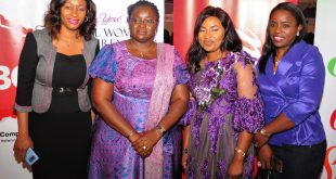 L-R: Amaka Onyemelukwe, Manager, Public Affairs & Communications, Coca-Cola Nigeria; Her Excellency Mrs. Omolewa Ahmed, Kwara State First Lady; Mrs. Bolanle Olawale, Publisher and CEO, gemWOMAN Magazine; and Sade Morgan, ‎Legal, Public Affairs and Communications Director, Nigerian Bottling Company; at the 11th edition of gemWOMAN annual Body, Soul and Spirit (BSS) Women Conference that held in Lagos on Monday 2 October 2017.