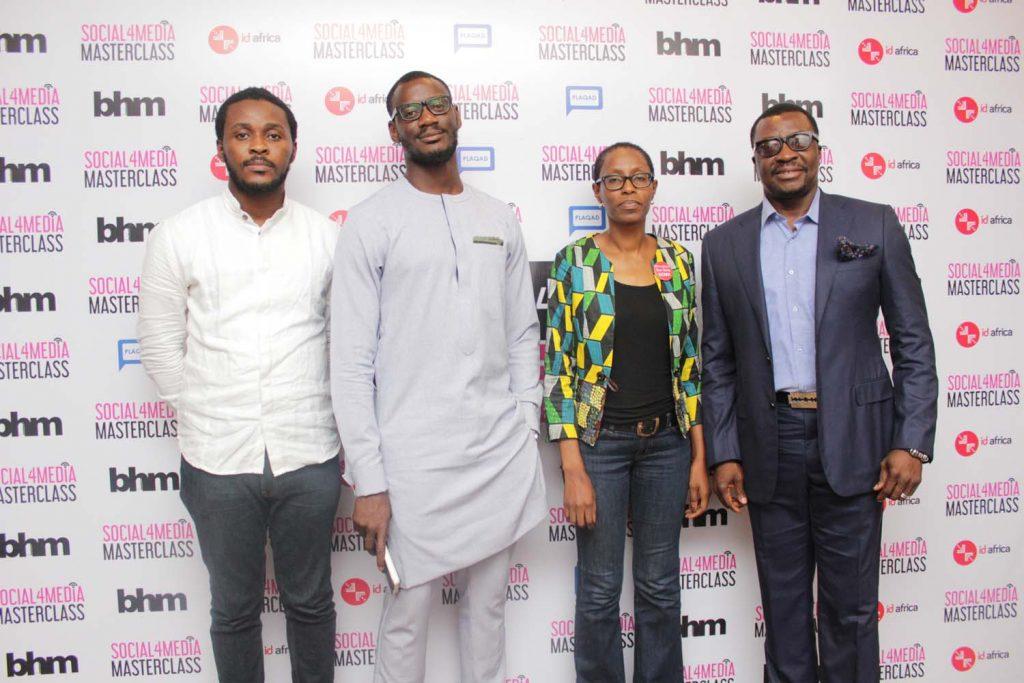 John Adewusi, Tomiwa Aladekomo, Yemi Adamolekun and Ali Baba