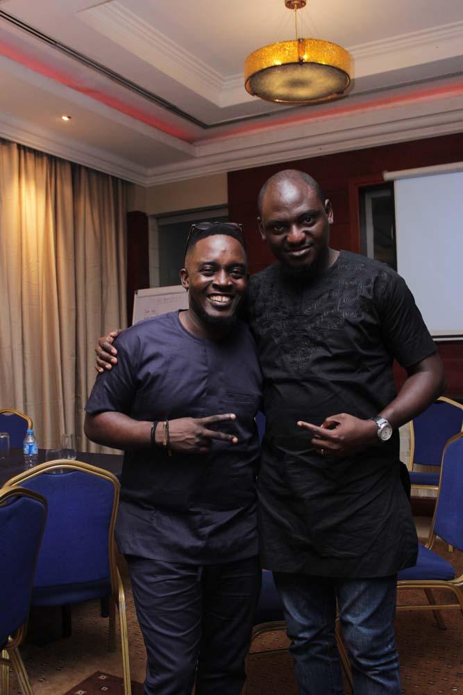 M.I (Jude Abaga) & Melvin Udosen, Publisher, Brandessence Magazine