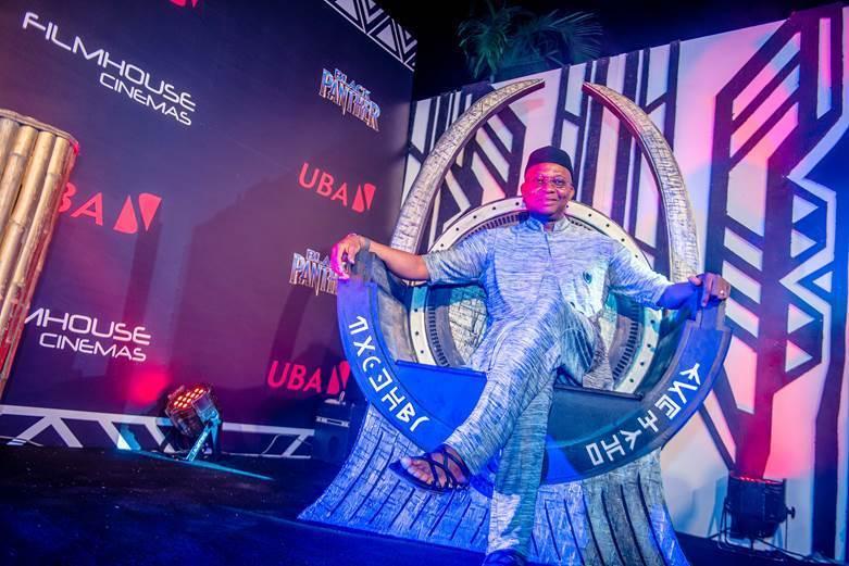 GMD/CEO, UBA Plc, Mr. Kennedy Uzoka